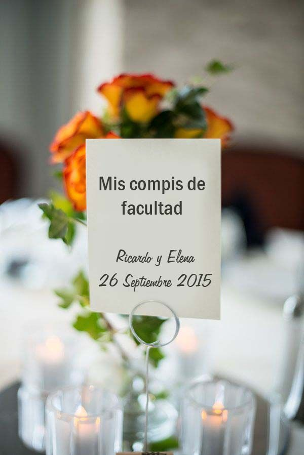 3 ideas originales para numerar las mesas de la boda http://blog.higarnovias.com/2015/08/07/numerar-las-mesas-de-la-boda/ #Entrebastidores  #BlogHigarNovias