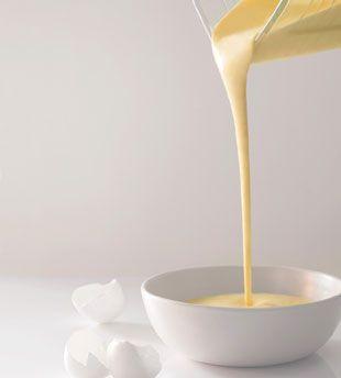 Eric Ripert's blender hollandaise. This is so easy!  http://www.bonappetit.com/recipes/2011/05/blender-hollandaise