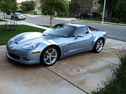 2012 Carlisle Blue Corvette Grand Sport  #Corvette