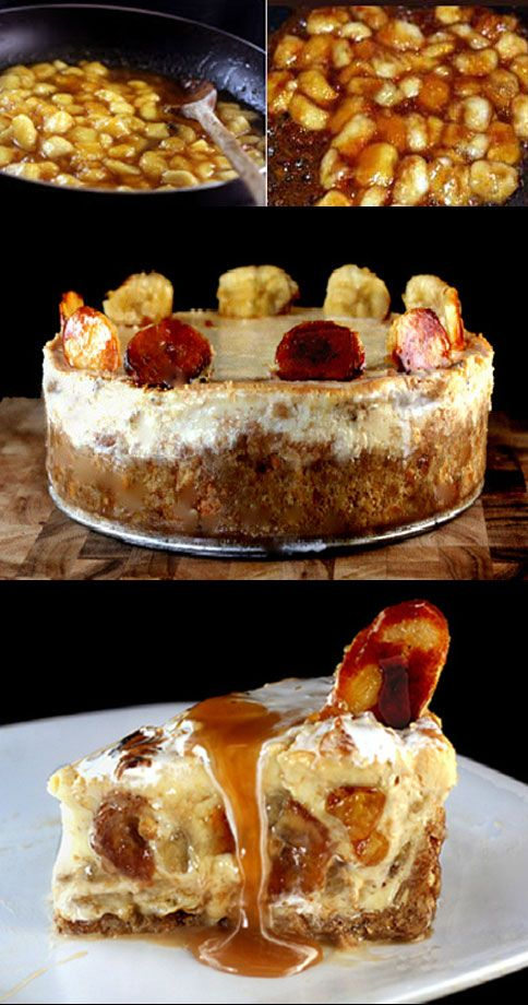 Caramelized Spiced Banana Cheesecake Recipes — Dishmaps