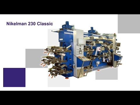 Nikelman® 230 Classic is designed for high quality overprints, in both – UV technology and with alcohol-based and water-based inks. This solution let us choo... #Flexoprinting #machines #Shirrting #machines #Additional #devices #Modernizations #and #repairs #Indywidual #project #nikelman #rtu #gearless #anilox #doctorchumber