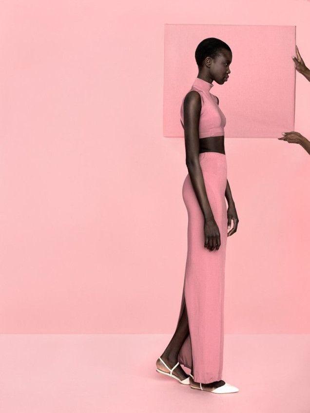Think Pink// #fashioneditorial #fashionphotography