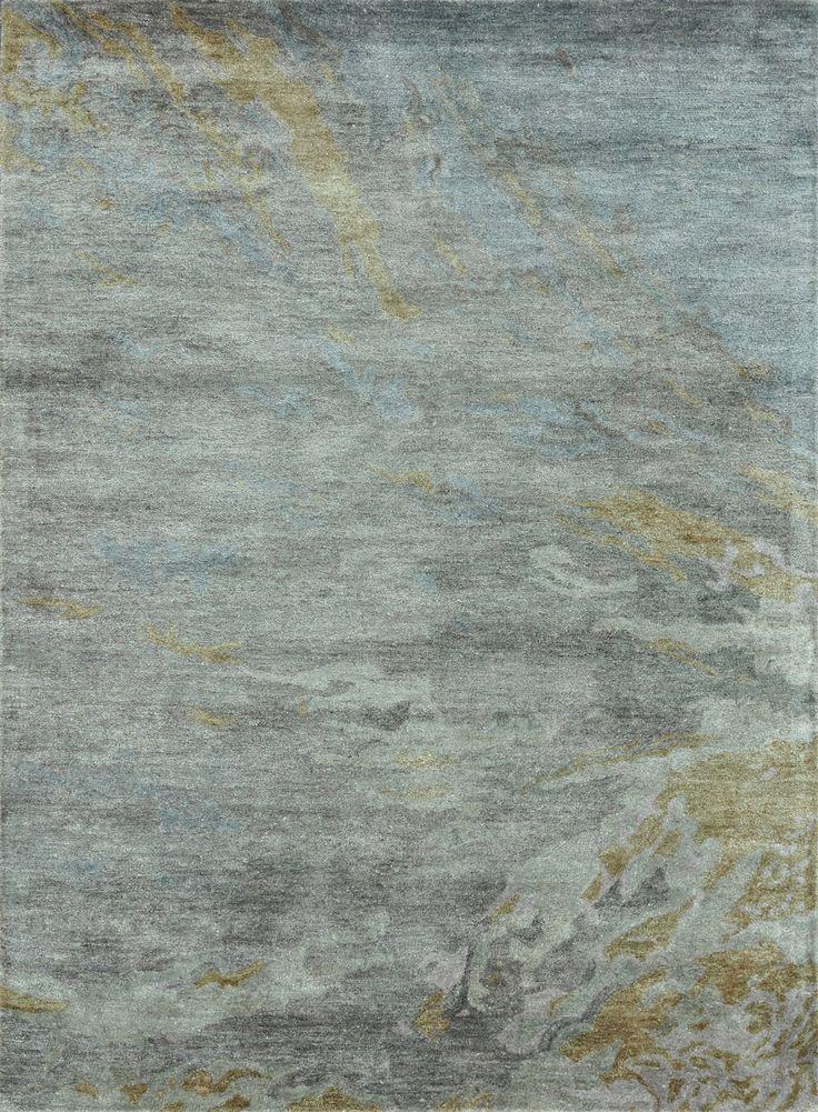 "Loloi Rugs Eternity Silver-Gray Modern / Contemporary Hand Tufted Rug - LLR-ETEREY-04SI, 9'3"" x 13', via southshoredecorating.com"