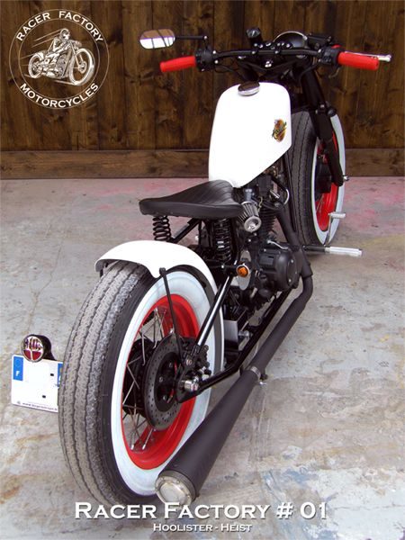 RF#01 - Hoolister / Cleveland CycleWerks, modèle Heist - Version Classic Bobber by Racer Factory Motorcycles