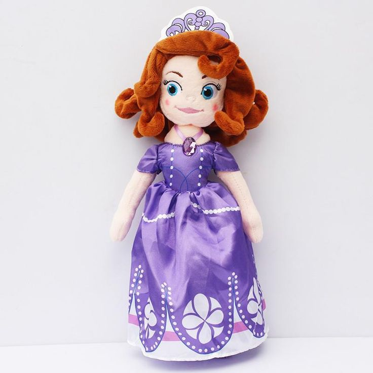 30cm New Sofia the First Princess Sofia Doll Plush Toys Stuffed Soft Toys Dolls For Girls