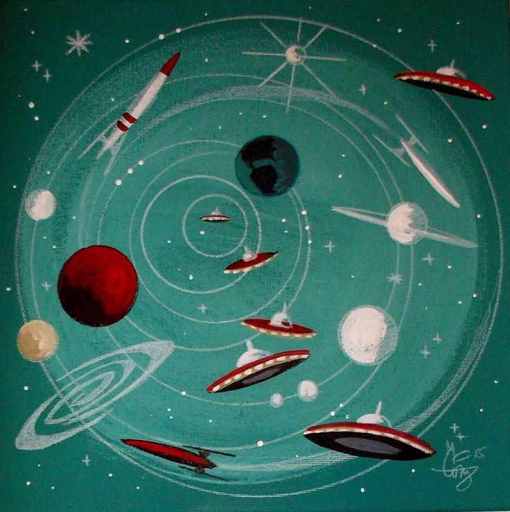 358 el gato gomez sci fi for Retro outer space