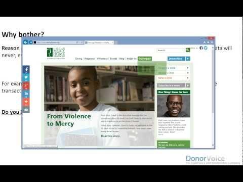 Donor Feedback Platform™ | Donor Voice | donateursbehouden.nl