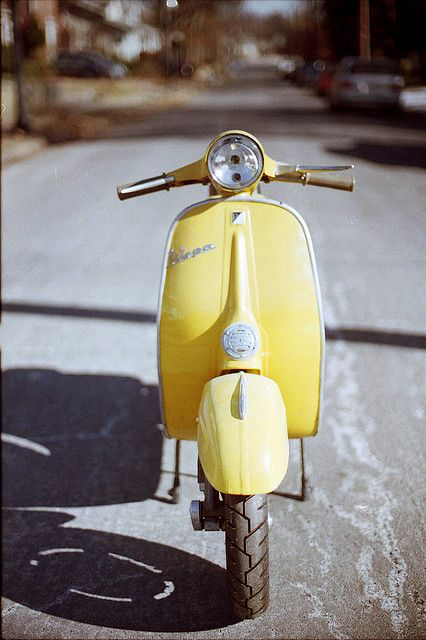 Vespa ss90, my summer ride for when I go to Europe :)