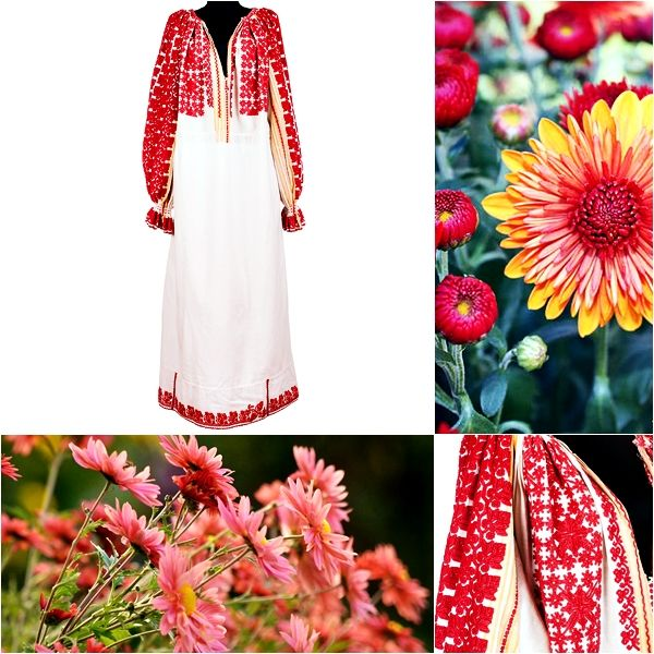 Flowers makes everything better. #florideie #fashion #style #unique #colorful #dlowers #designer #romania #handmade #vintage #red