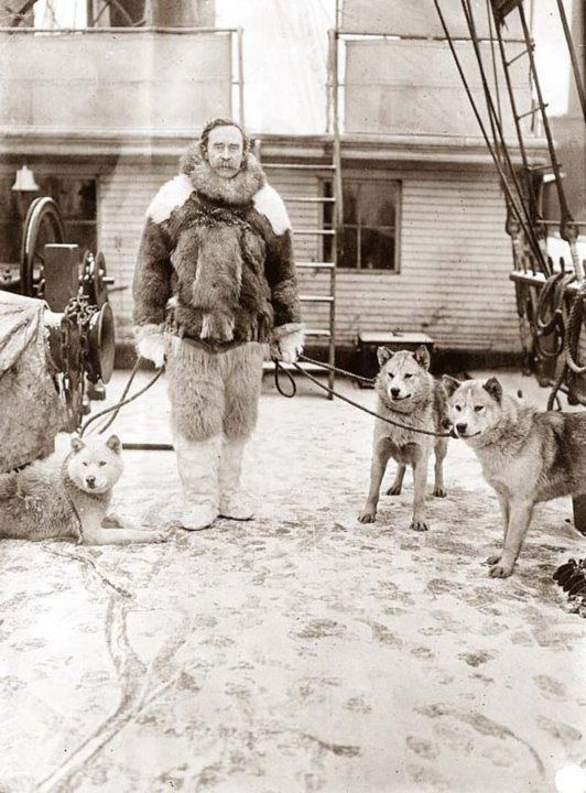 Admiral Robert Peary Artic Expedition
