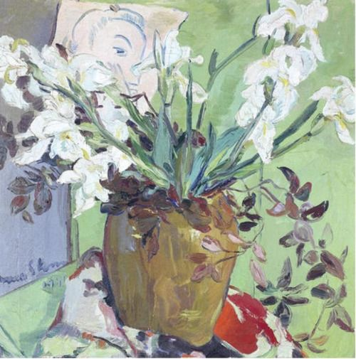 'Still life with White Irises', 1941 - Irma Stern (1894–1966)
