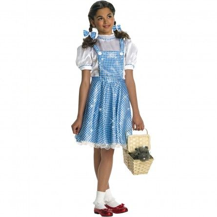 Girls Sequins Dorothy Costume