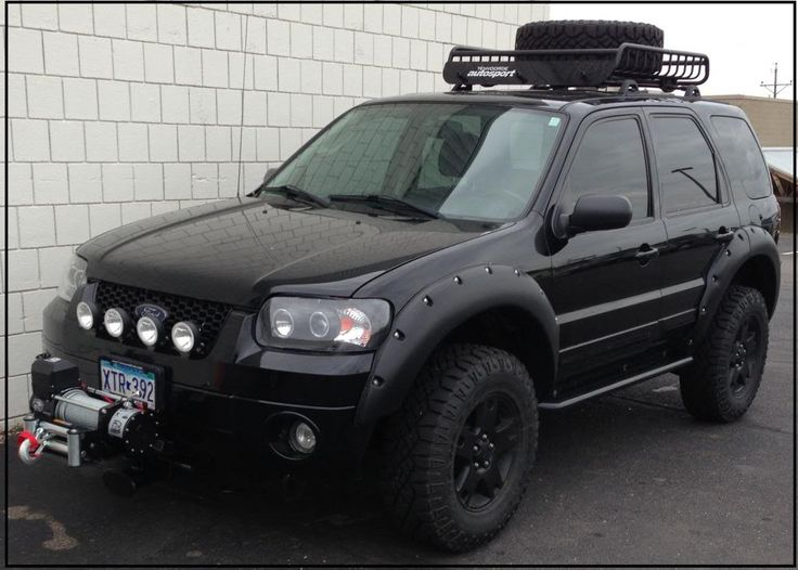 Mazda Lift Kits >> 1000+ images about Ford Escape on Pinterest | 4x4, Lift kits and 500 cars