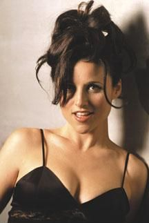 hot then, hot now.. some people just get better with age Julia Louis Dreyfuss