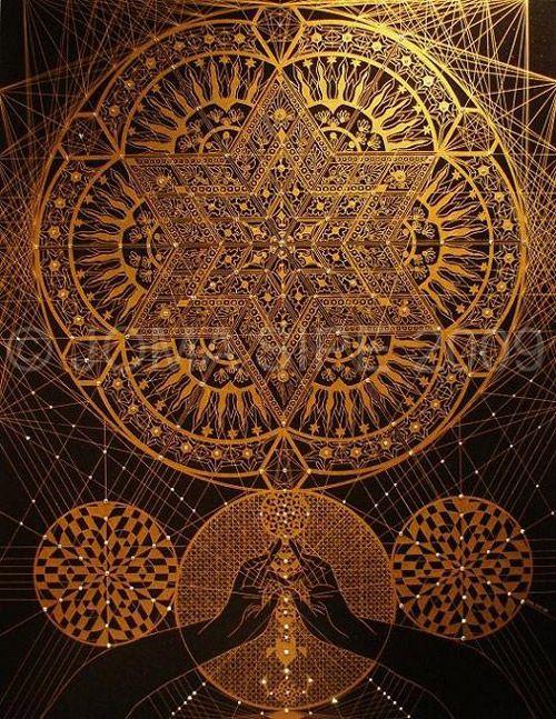 :::: ♡ ♤ ✿⊱╮☼ ☾ PINTEREST.COM christiancross ☀❤•♥•*[†]⁂ ⦿ ⥾ ⦿ ⁂  :::: Joma Sipe - Mandala