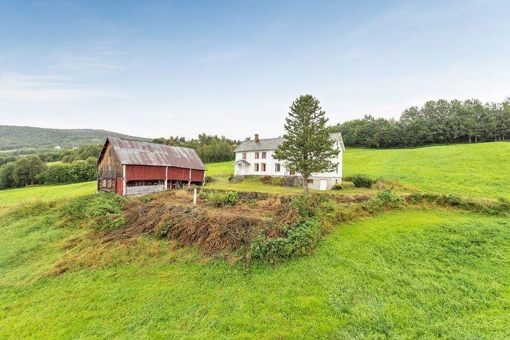 (6) FINN – Ålen - Småbruk med landlige og fredlige omgivelser - Bolig og tomt har et stort potensialet - Fantastisk utsikt