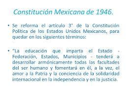 Resultado de imagen para reforma del articulo 3 constitucional 1946