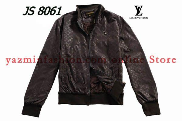 coffee monogram leather louis vuitton jackets men 39 s. Black Bedroom Furniture Sets. Home Design Ideas