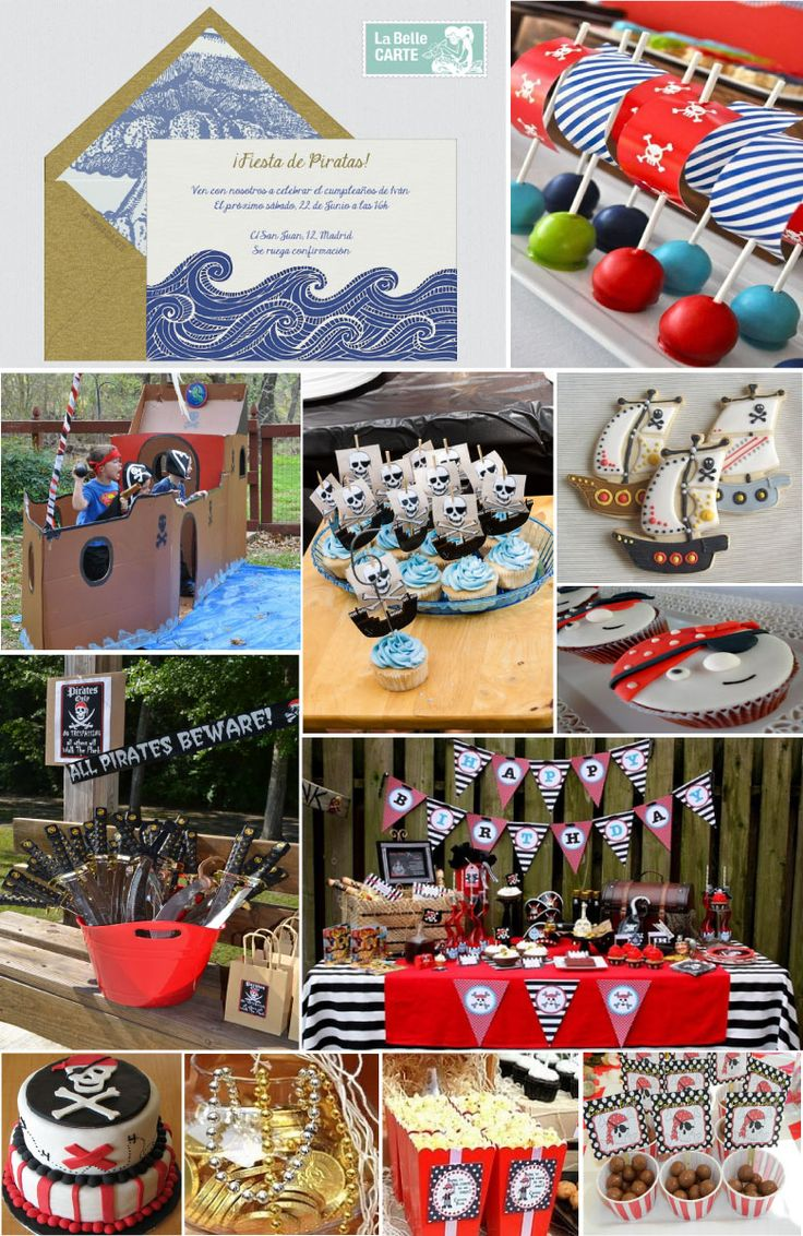 The 25 best cumple pirata ideas on pinterest fiesta de - Ideas para cumpleanos infantiles ...