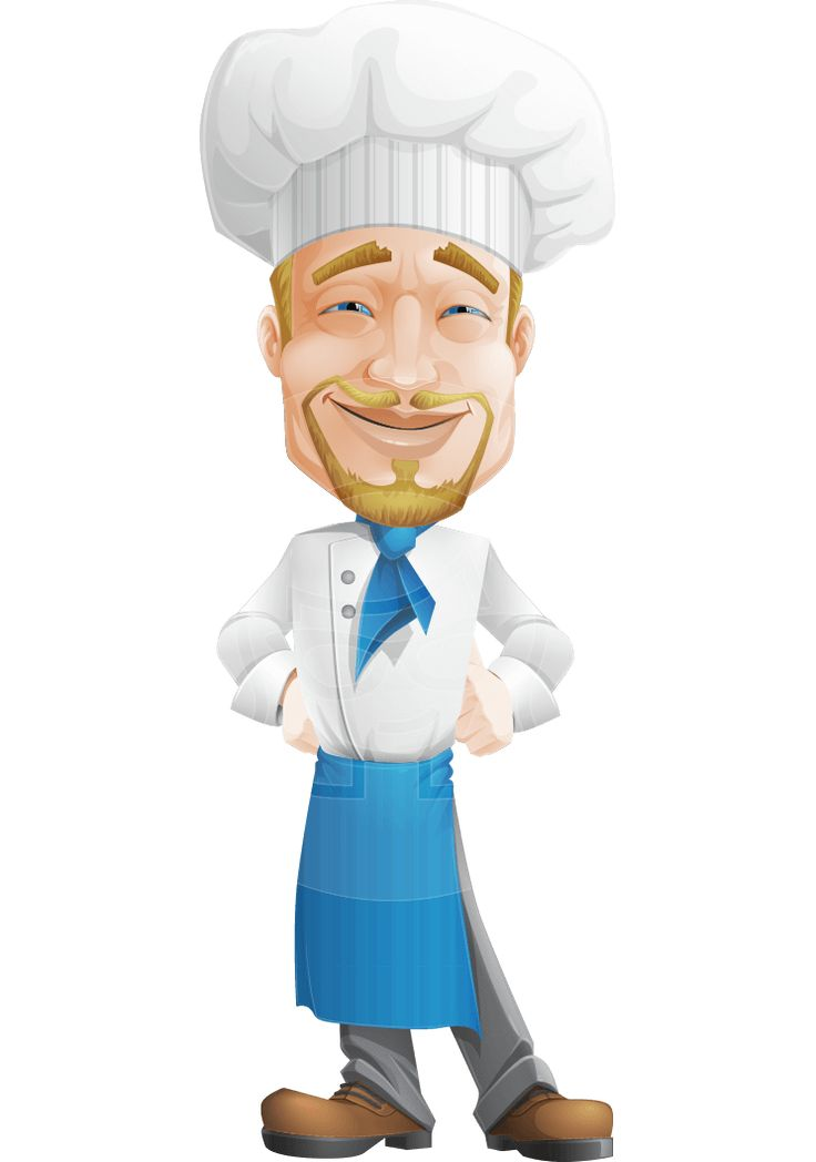 Cartoon Characters 3 Fingers : Best images about chef vector cartoons on pinterest
