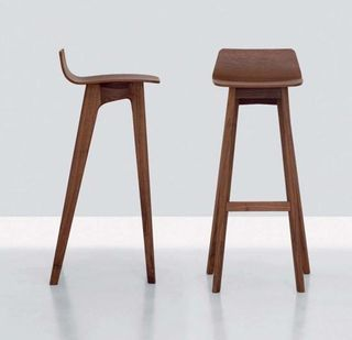 Bar-Stool-Modern-by-Formstelle Danish Mid Century Walnut Bar Stool & Best 25+ Unique bar stools ideas on Pinterest | Stools Bar stools ... islam-shia.org