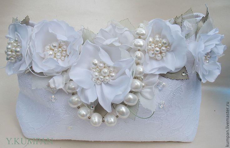 Купить СУМКА. WEDDING PEARL - сумка, сумка с цветами, свадебная сумочка…