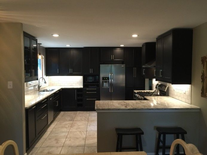 ikea has everything you need for a classy black kitchen design. beautiful ideas. Home Design Ideas