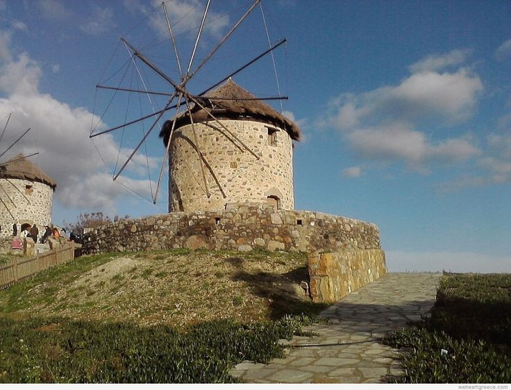 #Windmills at Kontias, #Lemnos #Greece