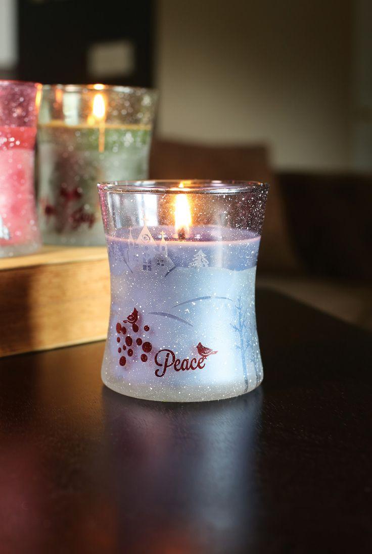 Świece świąteczne  / Christmas candles Wood Wick  Mint Truffle
