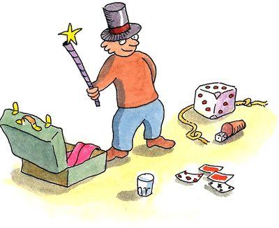 Jojo la magie - illustration 1
