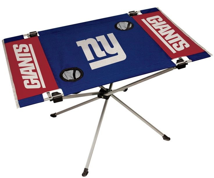 Giants NFL Table Endzone Style Table - Rawlings