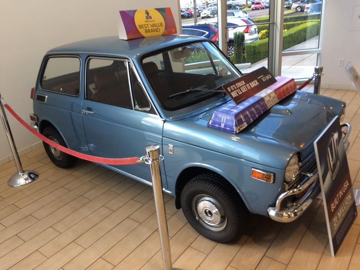Saw this restored Civic (?) at my local dealer #Honda #civic #hondacivic #hondalife #hondalove #car