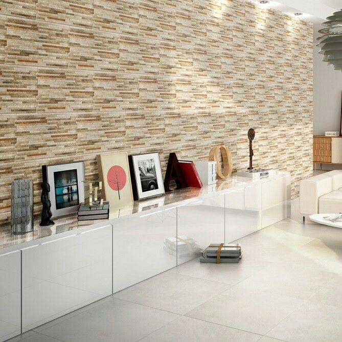 Nuestro modelo FLORIDA ARENA!!!  Aquí decorando el muro de la sala de estar!! Que hermoso queda!!!   Acércate al showroom más cercano, conoce éste y todos nuestros modelos~~  LAS CONDES: Presidente Riesco 3074 (Ref: Calle Carmencita) +56 222 333 500  SANTIAGO: San Diego 1686 +56 22 5555 627  Visita nuestra web: www.ralosa.com  Escríbenos a info@ralosa.com