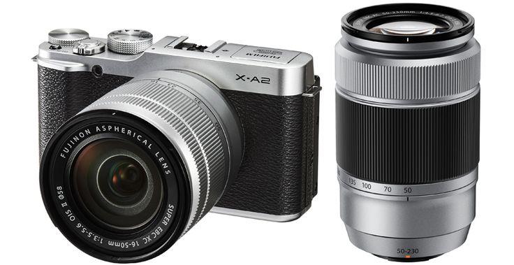 A nagyteljesítményű FUJIFILM X-A2 kompakt rendszer kamerával saját stílusában készíthet képeket A FujiFilm X-A2 fényképezőgéppel az X széria elismerten kiváló képminőségével rögzítheti a fontos pillanatokat. Önarcképek, tájképek, makro, gyenge fényviszonyú vagy vakus fényképezés. A FujiFilm X-A2 kreatív beállításokat kínál, saját stílusának kifejezéséhez. Ezzel a kamerával igazán megmutathatja kreativitását.  Készítsen gyönyörű önarcképeket A FujiFilm X-A2 az első olyan LCD kijelzővel
