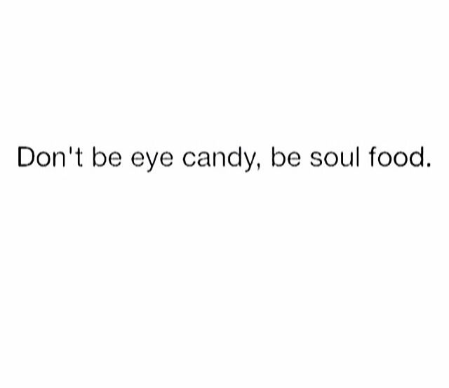 LooooooooVE this !! Well, I wanna be BOTH lol,  but I rather be soul food <3 ARG