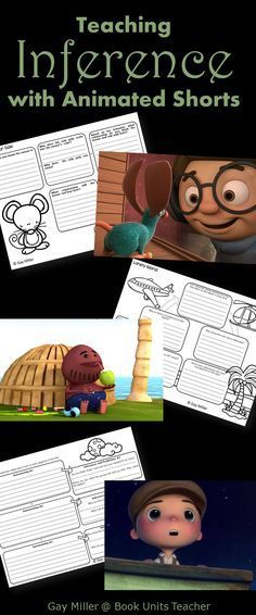 Free Printables to Use with Animated Shorts (Inference)