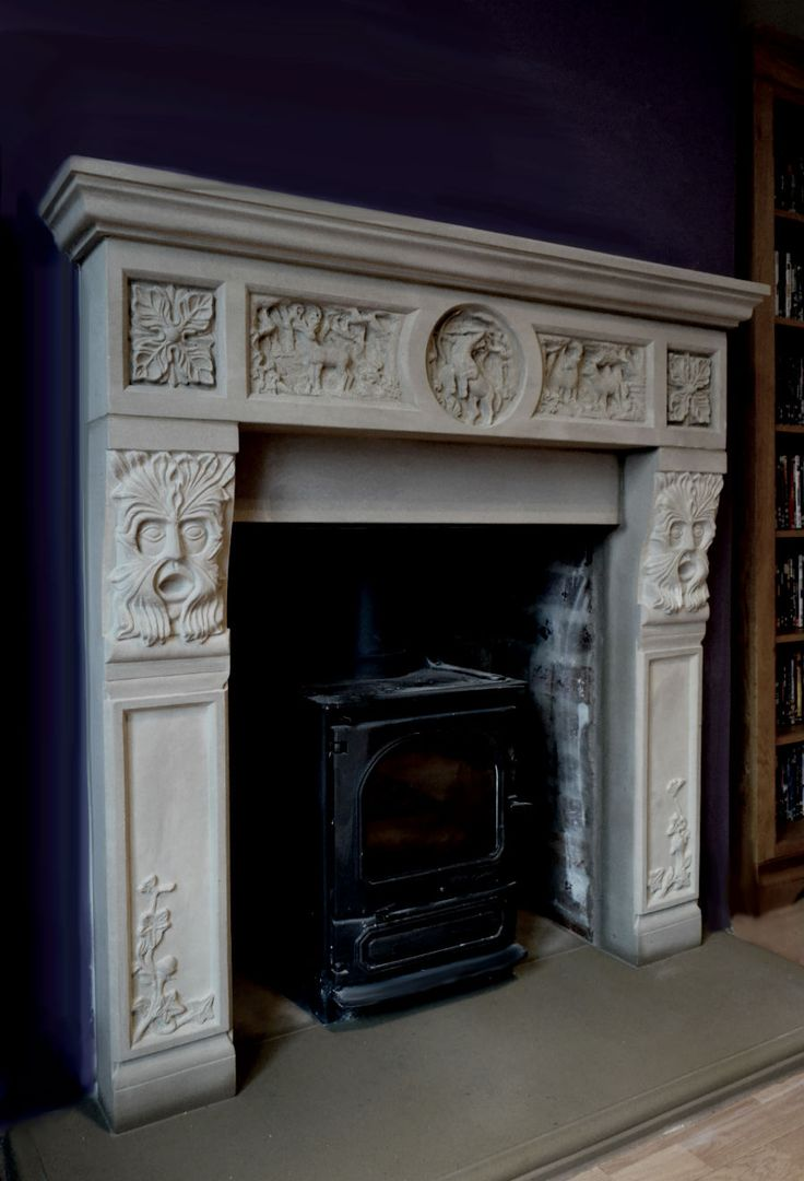 17 best stone fireplace surounds images on pinterest stone