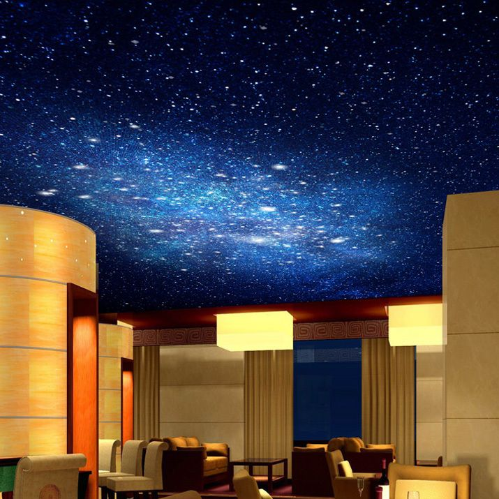 84 best custom wallpaper designs images on pinterest for Ceiling mural in a smoker s lounge
