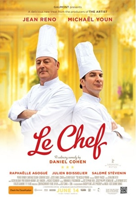 I recently saw Le Chef, it is a witty movie set in the world of French Cuisine.  A must see for Foodies, lovers of Comedies and French movies.