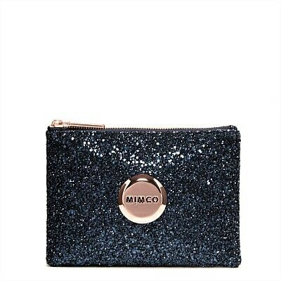 MIMCO SPARKS FLY POUCH AUD $79.95 Prussian Blue (w. Rose Gold)