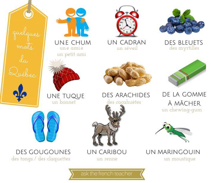 mots québécois