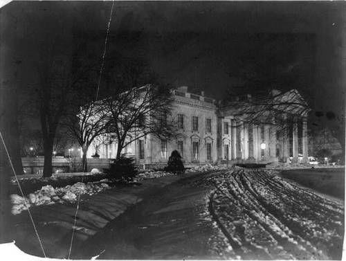 White House 1907. Beautiful.