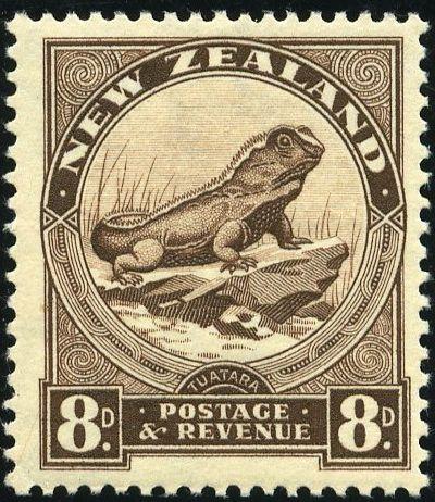 Rey George VI Nueva Zelanda 1935