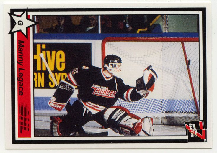 Manny Legace # 263 - 1990-91 7th Inning Sketch OHL Hockey