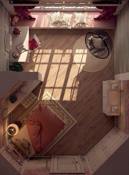 Комната для девушки в стиле Прованс