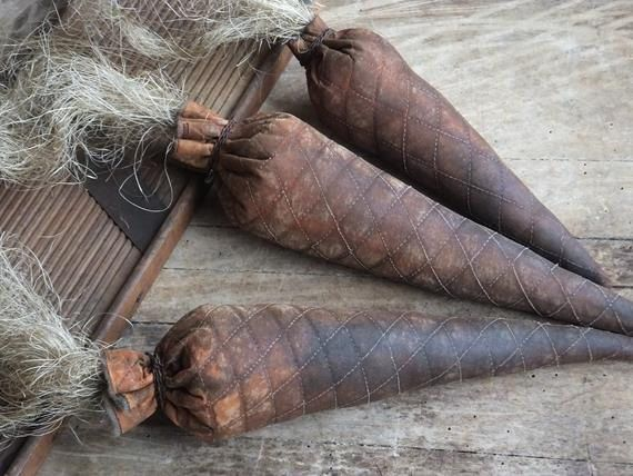 These giant primitive carrots are aged to perfection. The carrots are every bunny and gardeners dream, huge and yummy. Well at least yummy to