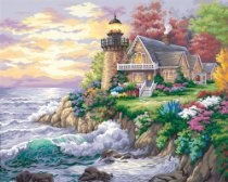 """Paint By Number Kit 20""""X16""""-Guardian Of The Sea SKU-PAS638514"""