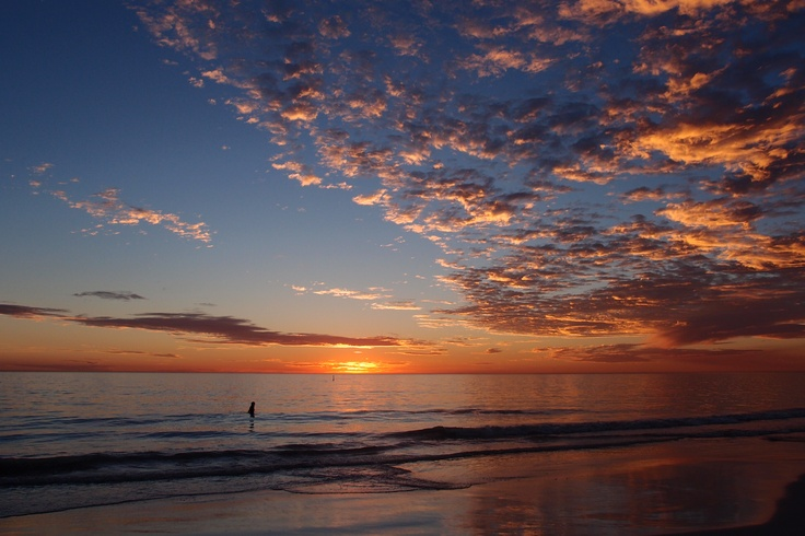 Sunset Mullaloo Beach Perth By Timothy Norton