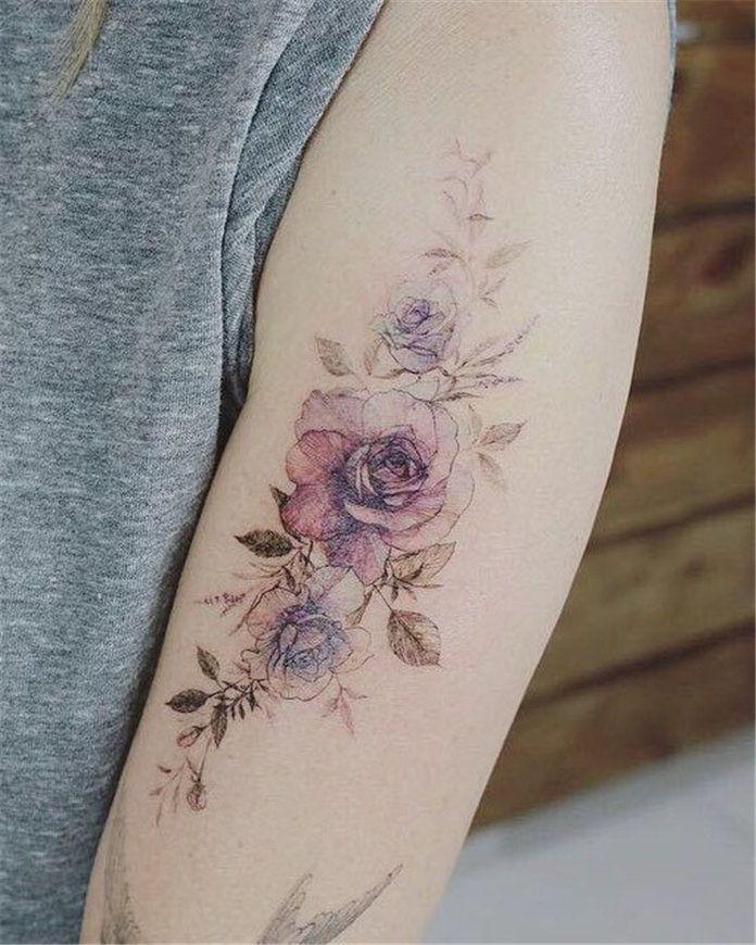 Cute Flower Tattoos For Women 2019 Tattoos For Women Flowers Tattoos For Women Flower Tattoo Designs