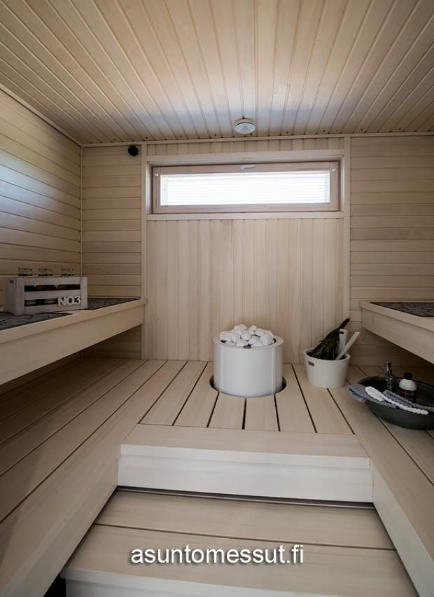 21 Omatalo Meriharakka - Sauna@ Loma-asuntomessut Kalajoella
